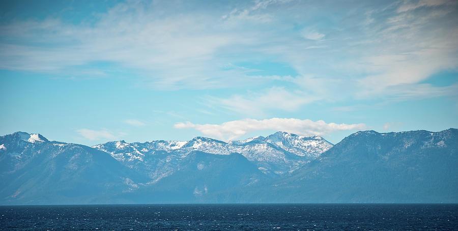 Mountains Of Lake Tahoe Photograph by Buburuzaproductions