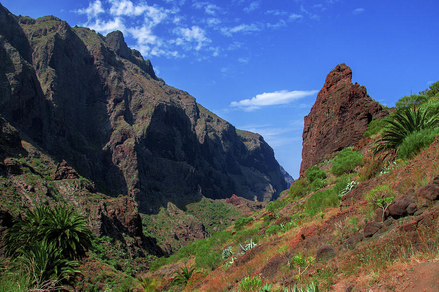 Mountains of the Teno massif near Masca by Sun Travels
