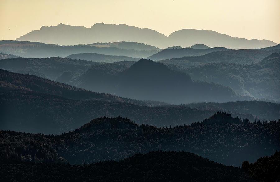 Mountains of Transalpina by Jaroslaw Blaminsky