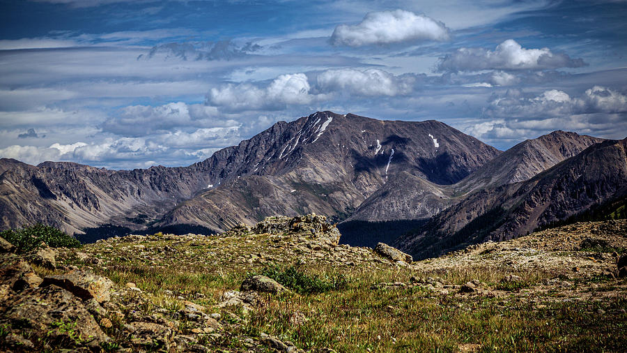 Mountaintop View From Independence Pass by Jeanette Fellows
