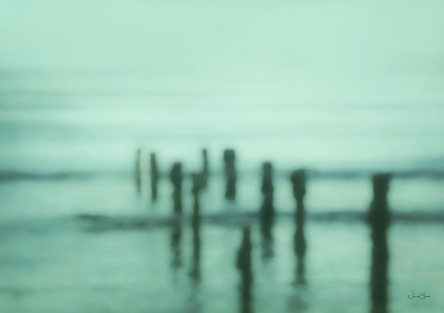 Mourne Beach Pillars by Norma Slack