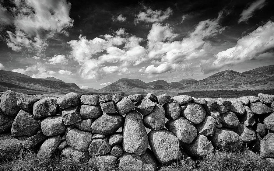 Mourne Wall View Photograph