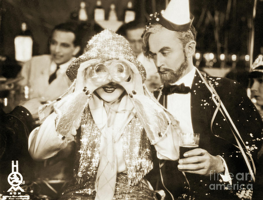 Movie Still Of Drunk Couple At New Photograph by Bettmann