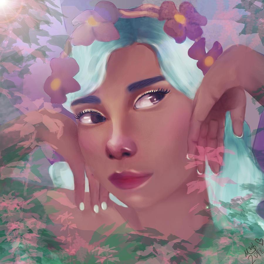 Moyas Fairy by Norma Warden