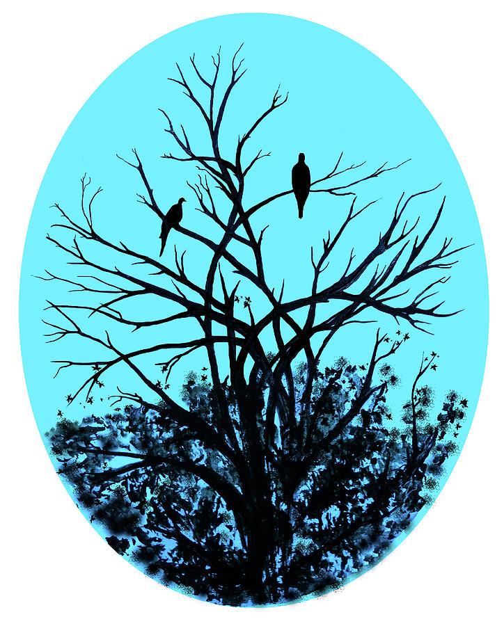 Mr . Mrs Blackbird by Olga Kaczmar