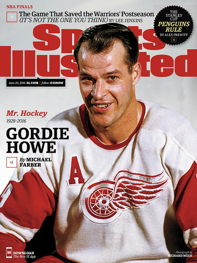 Mr. Hockey Gordie Howe, 1928 - 2016 Sports Illustrated Cover Photograph by Sports Illustrated