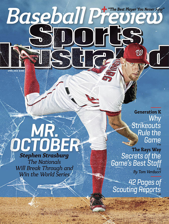 Mr. October, 2013 Mlb Baseball Preview Issue Sports Illustrated Cover Photograph by Sports Illustrated