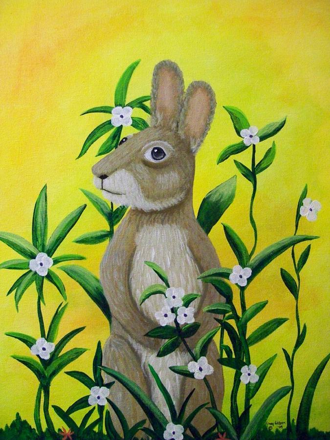 Mr Rabbit by CINDY WILSON
