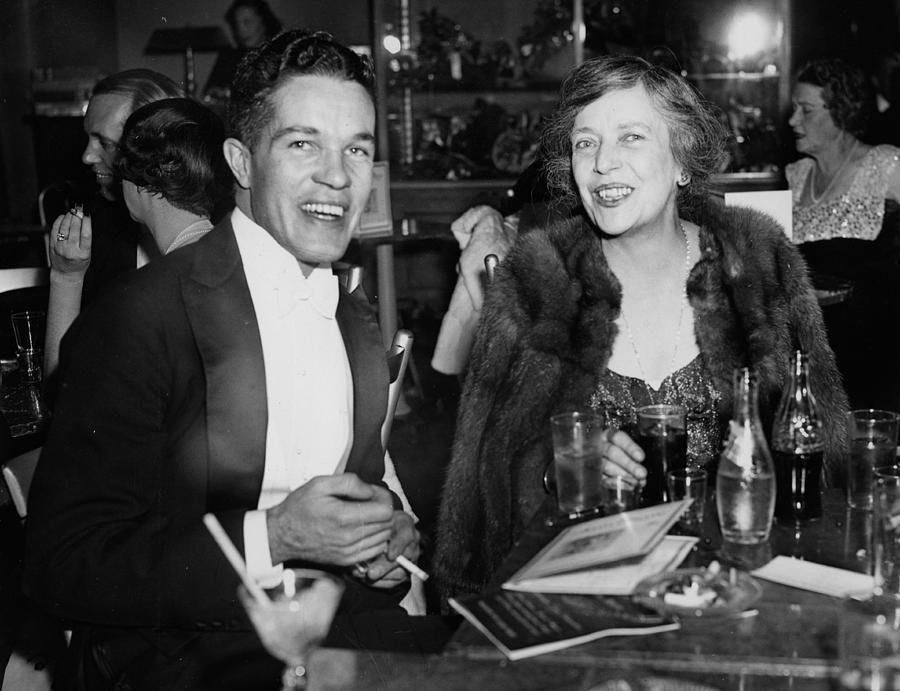 Mr. Robert Stevens And Mrs. Nicholas Photograph by Bert Morgan