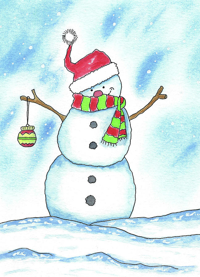 Mr. Snowman by Susan Campbell
