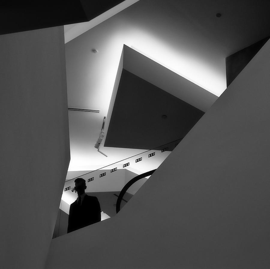 Architecture Photograph - Mr X by Mihai Florea