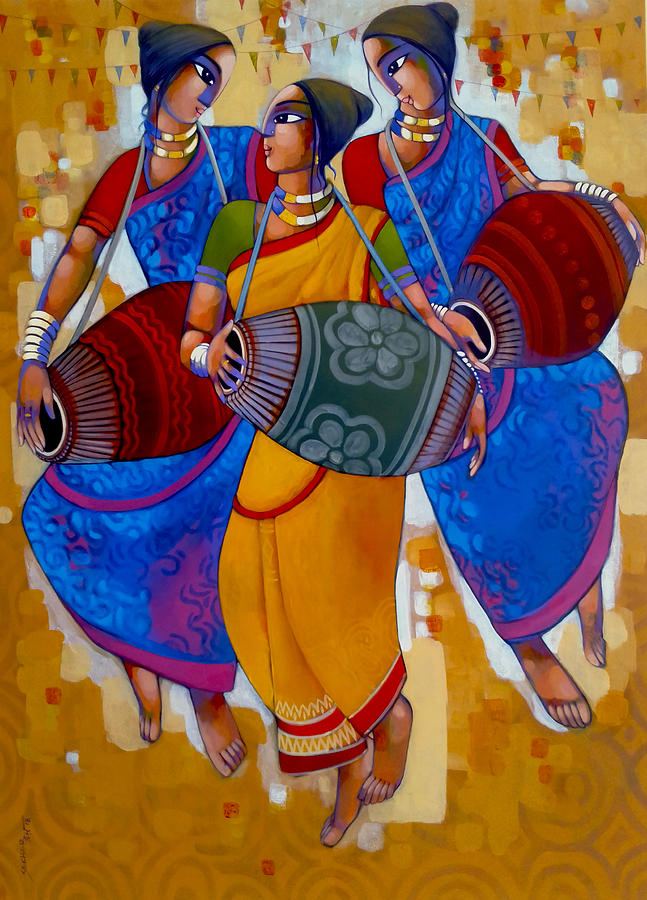 Mridanga Painting