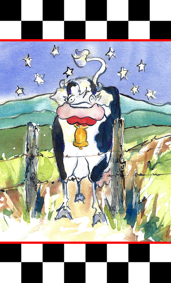 Mrs. Cow Is Down on the Farm Children's Accessories by Jacki Kellum