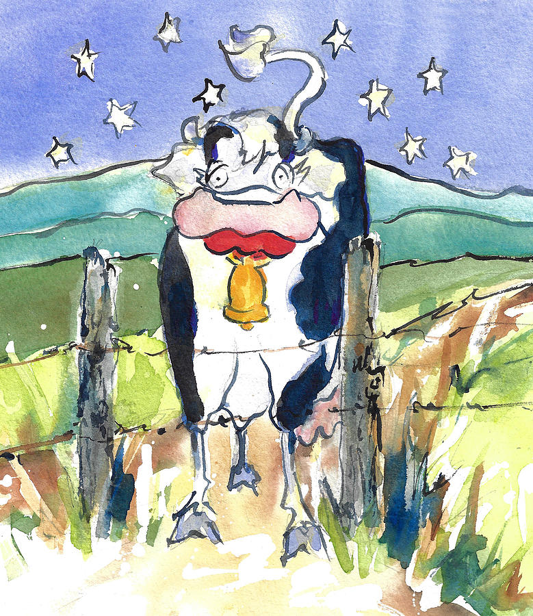 Mrs. Cow Is Down on the Farm by Jacki Kellum