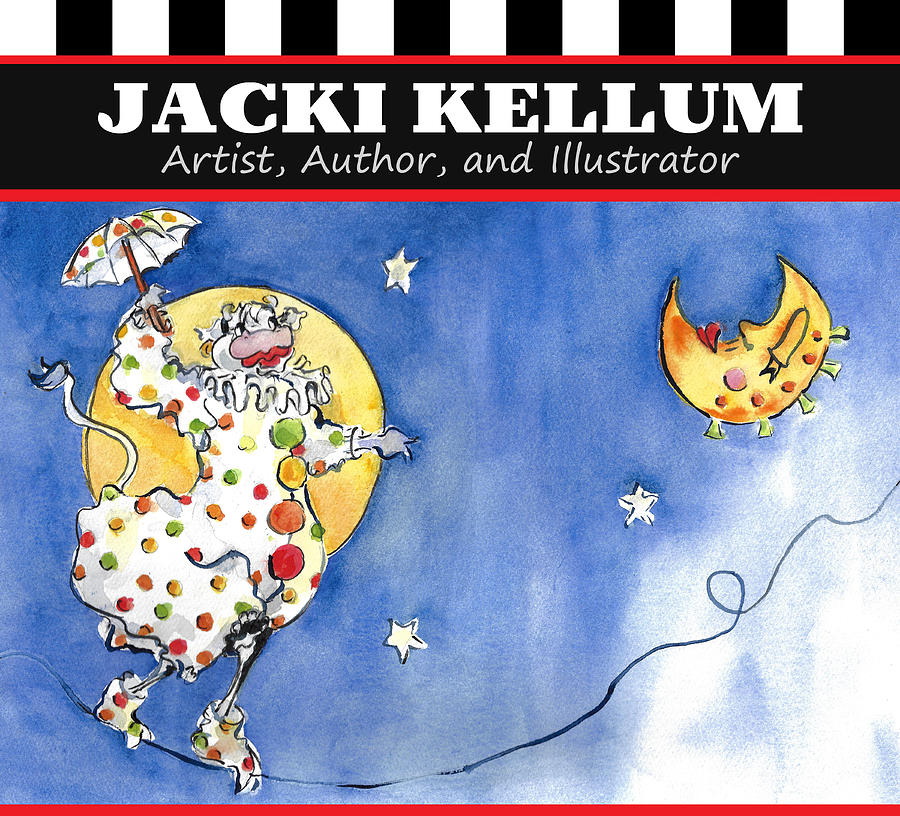 Mrs. Cow Likes Polka Dots Jacki Kellum Artist Author and Illustrator by Jacki Kellum