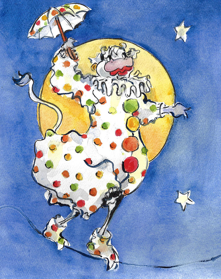 Mrs. Cow Loves Polka Dots by Jacki Kellum