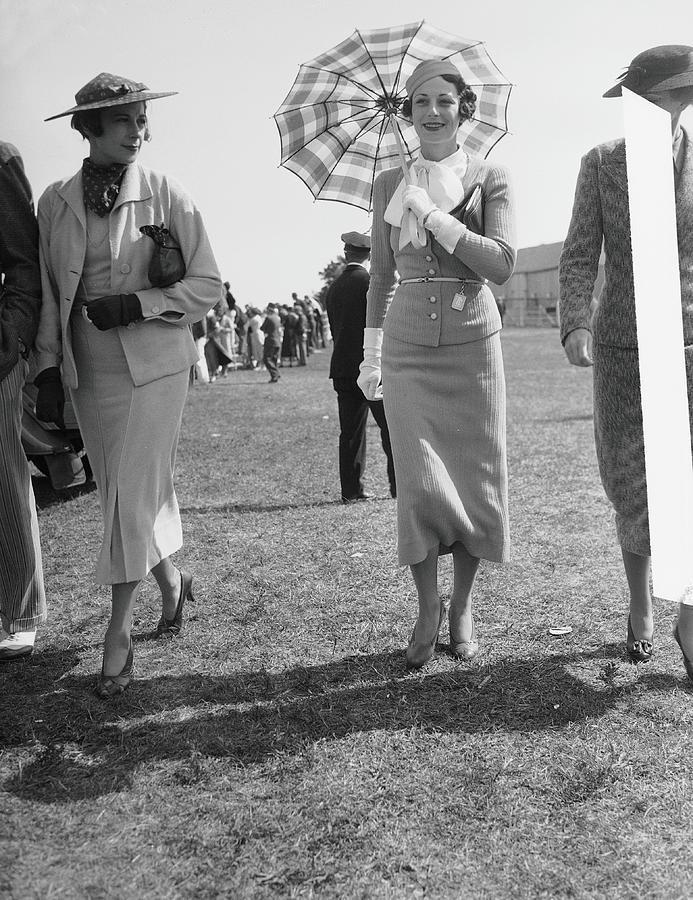 Mrs. Edgar W. Garbisch & Mrs. Byron C Photograph by Bert Morgan