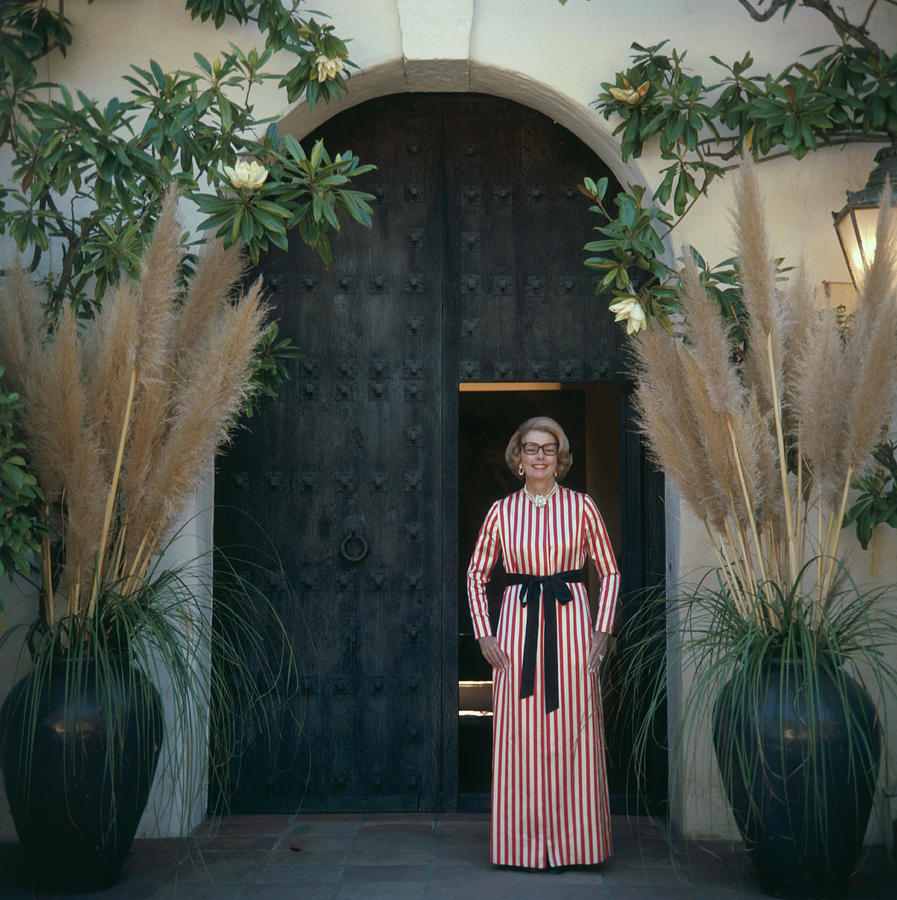 Mrs James Hoover Photograph by Slim Aarons