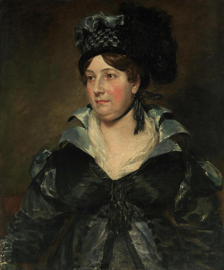 Mrs. James Pulham Sr. -Frances Amys, ca. 1766-1856-. by John Constable