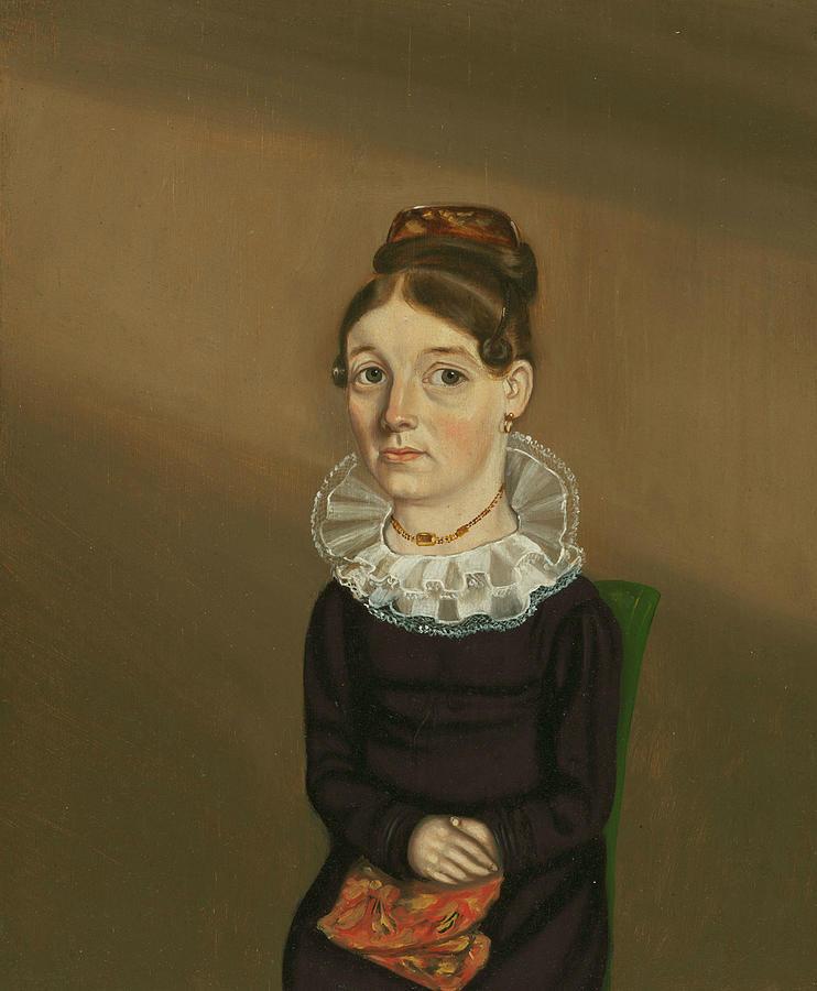Mrs William Bonham Painting by William Bonnell