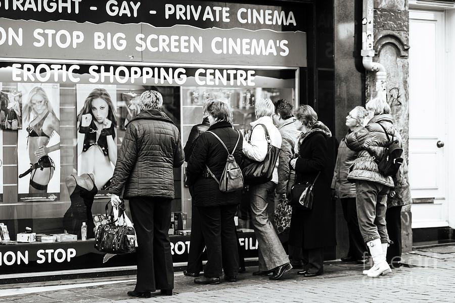 Amsterdam Erotic Shopping Centre by John Rizzuto