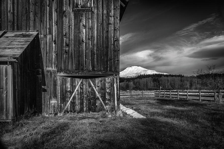 Mt. Adams Barn by Cat Connor