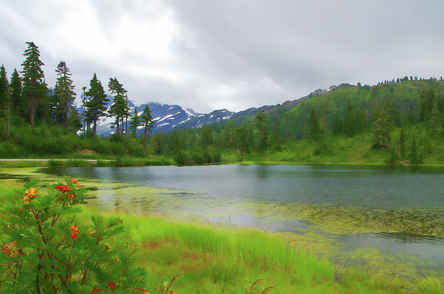 Picture Lake by Marilyn Wilson