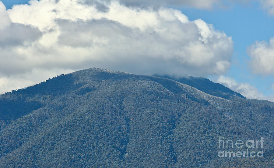 Mt Bogong Beauty The Clouds by Joy Watson