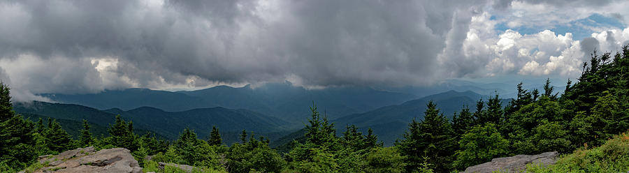 Mt. Craig Overlook Panorama by Natural Vista Photo