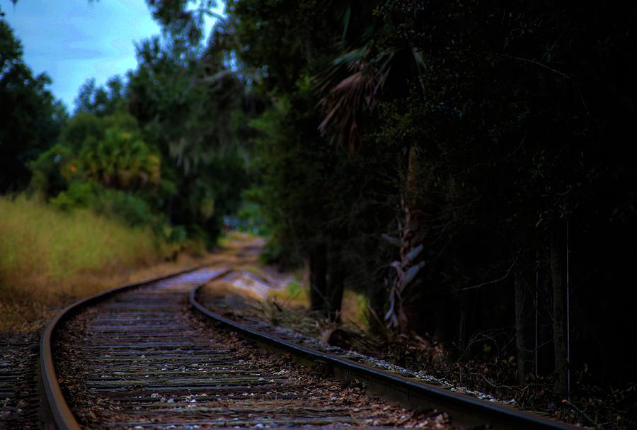 Mt Dora R R Tracks by Kevin Banker