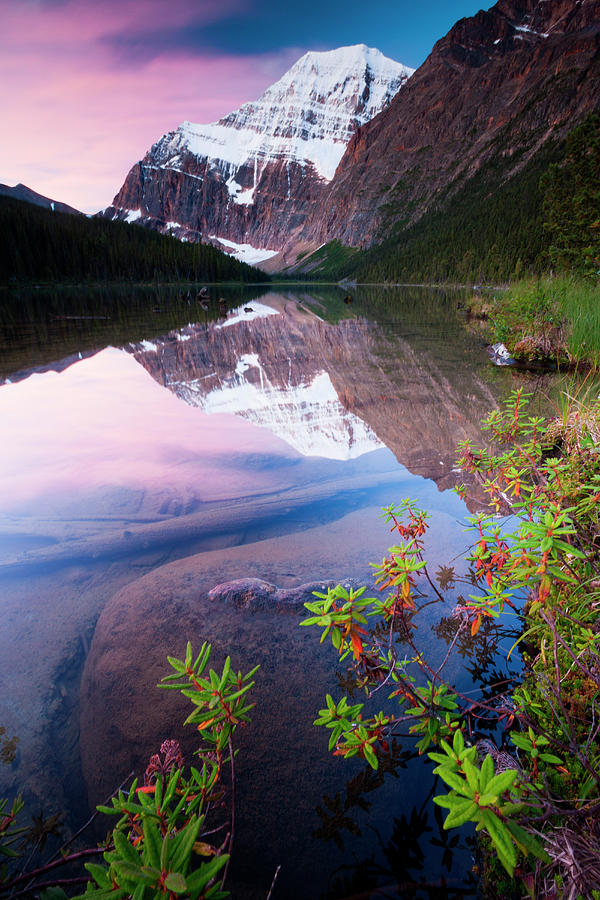 Mt. Edith Cavell, Jasper National Park Photograph by Mint Images/ Art Wolfe