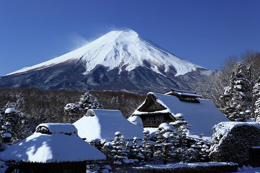 Mt. Fuji Photograph by Fuminana