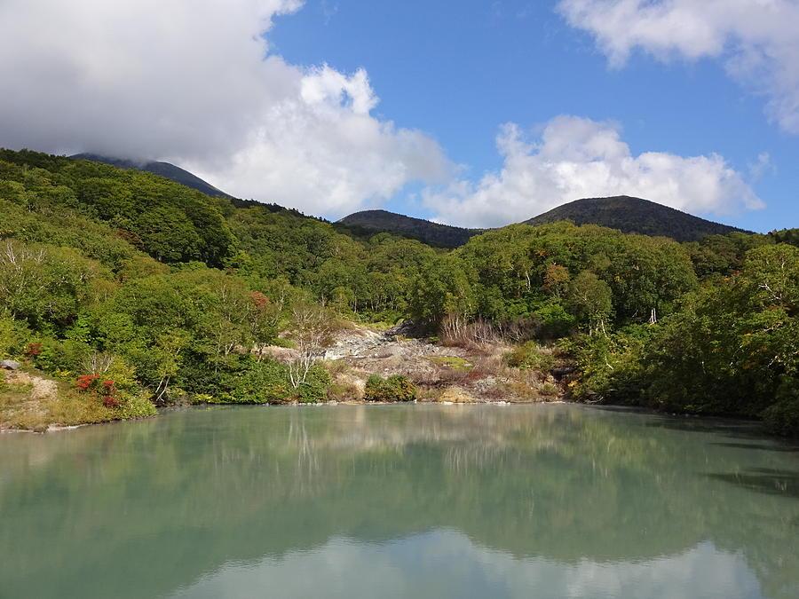 Lake Photograph - Mt. Hakkoda by Yujun