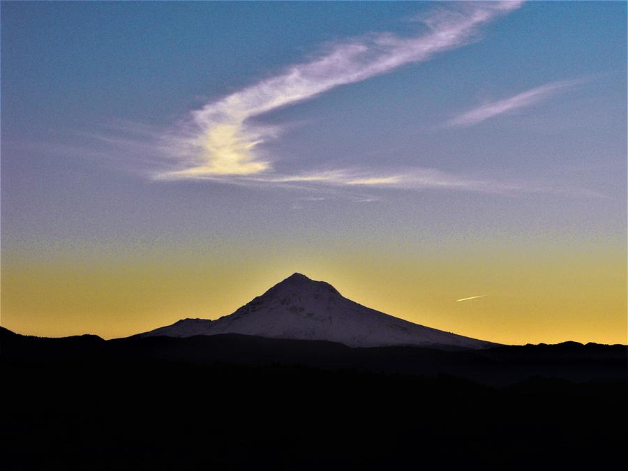 Mt. Hood Sunrise at Jonsrud View by Michael Oceanofwisdom Bidwell