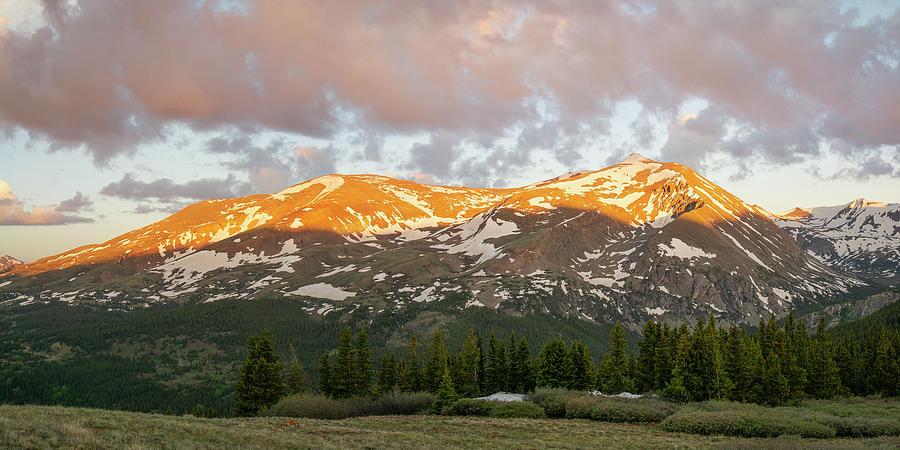 Breckenridge Photograph - Mt. Lincoln Sunrise by Aaron Spong