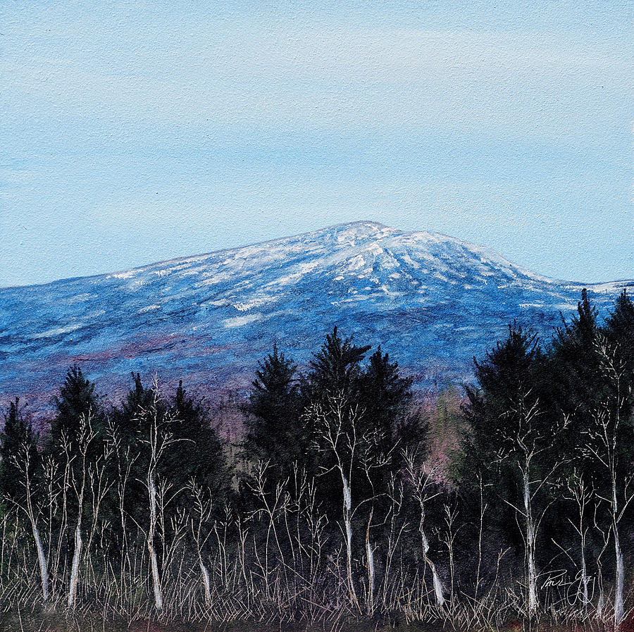 Mt. Monadnock Spring Snow by Paul Gaj