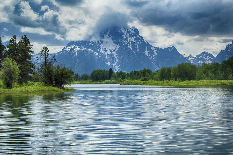 Mt. Moran in Summer by Marie Leslie