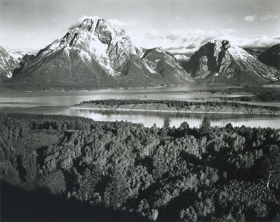 Mt. Moran, Teton National Park Photograph by Archive Photos