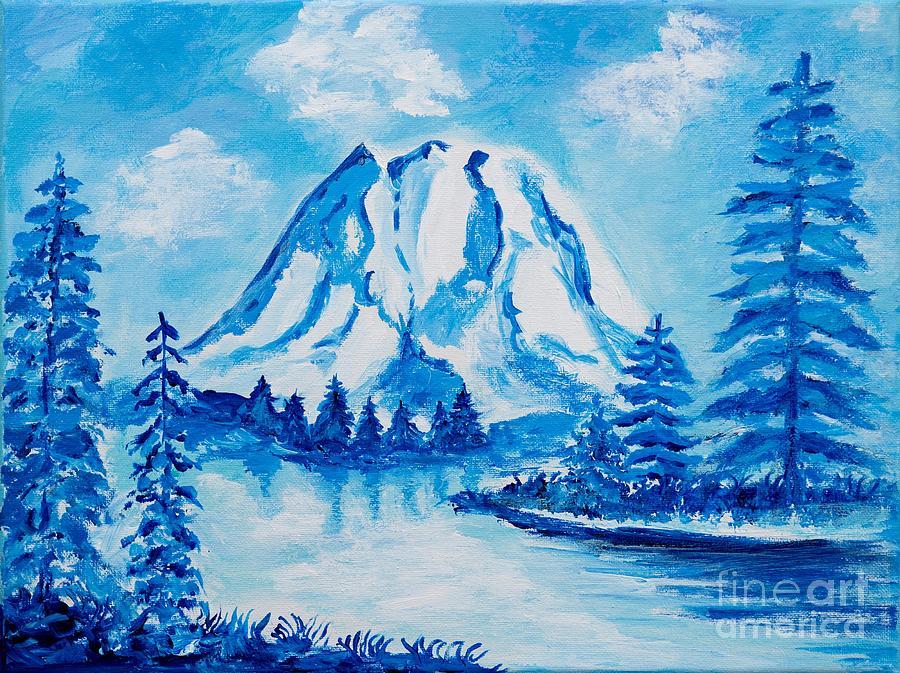 Mt. Rainier by Art by Danielle