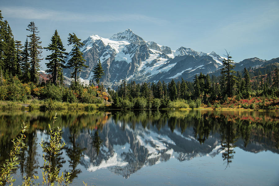 Mt. Shuksan in the Fall by E Faithe Lester