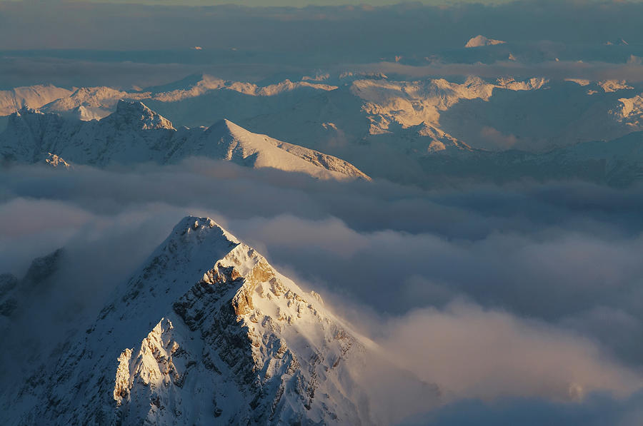 Mt. Zugspitze 6 - Bavaria Germany Photograph by Wingmar