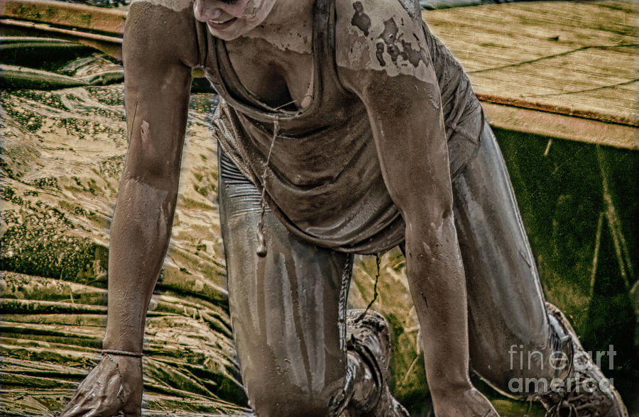 Beauty Photograph - Mud Crawl  by Steven Digman