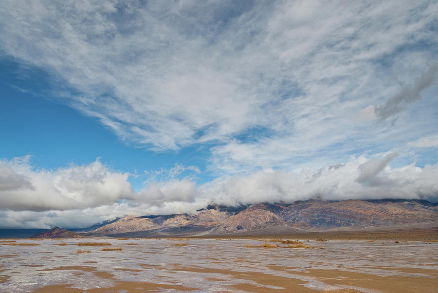 Mud Flats in Panamint Valley by Jeff Goulden
