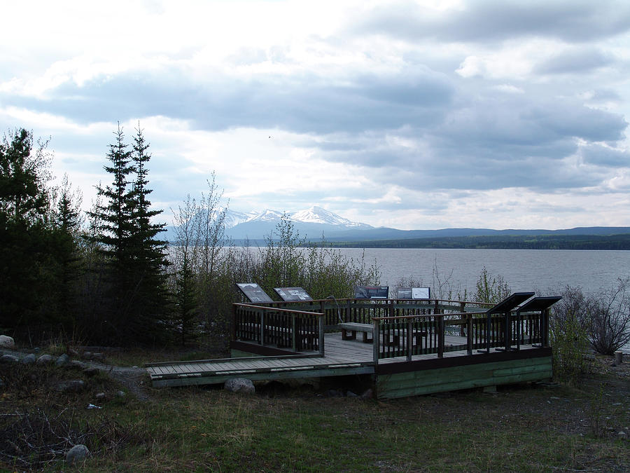 Mud Lake Yukon Canada Photograph