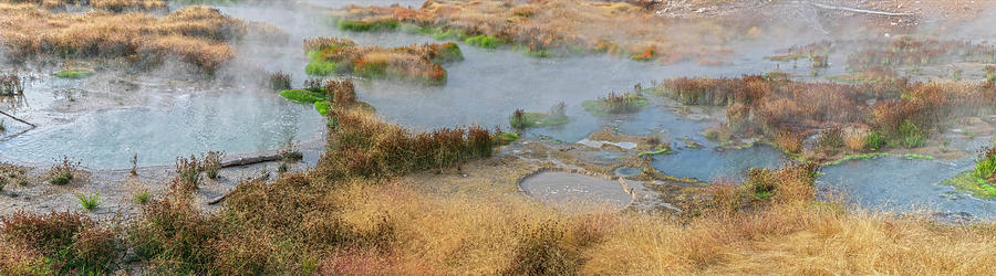 Mud Volcano Area Panorama by Angelo Marcialis