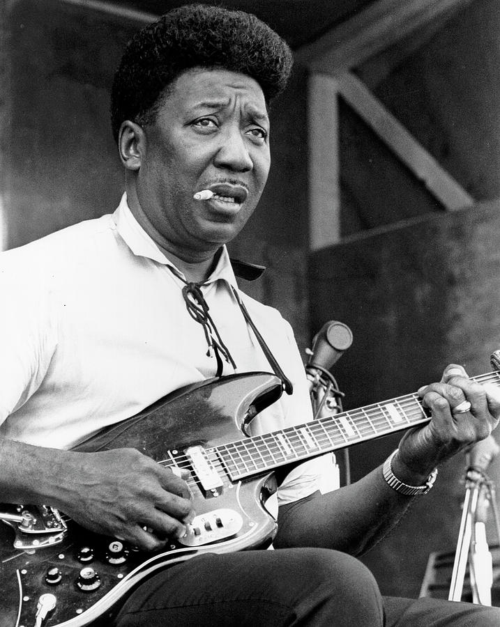 Muddy Waters Live At The Ann Arbor Photograph by Tom Copi