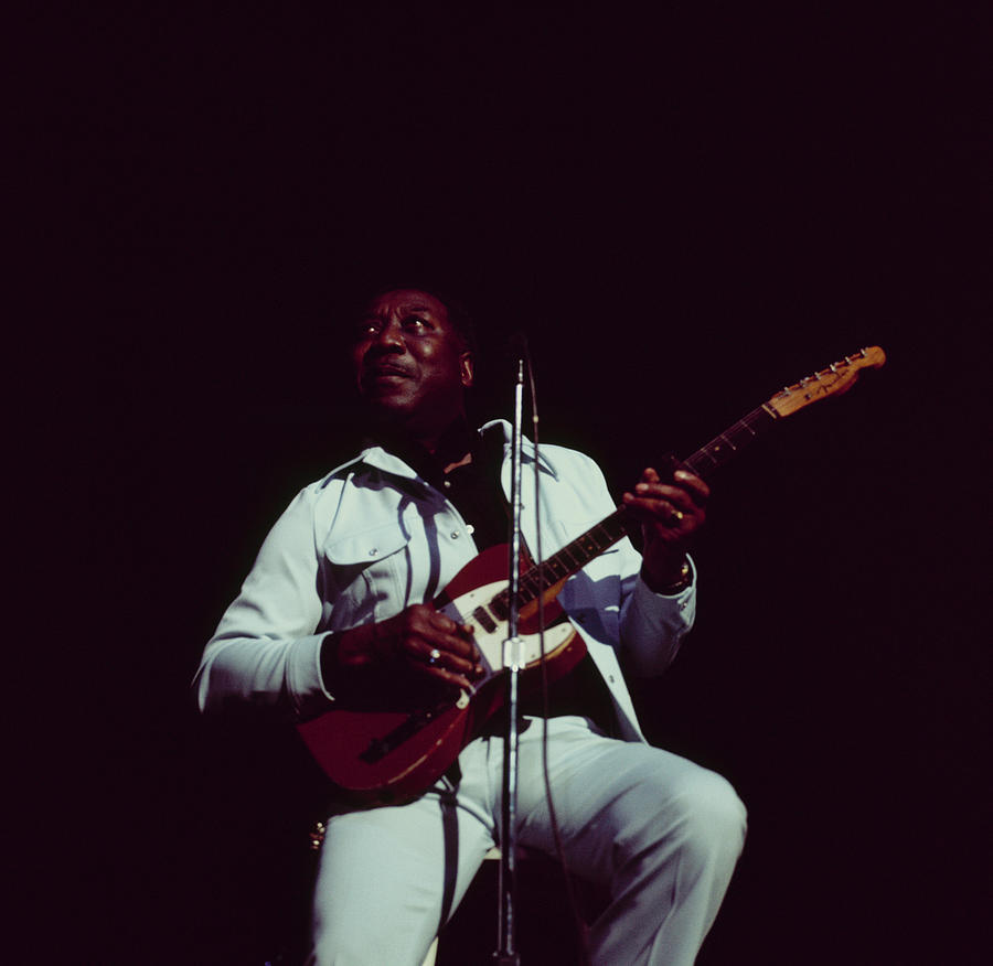 Muddy Waters Perfoms On Stage Photograph by David Redfern