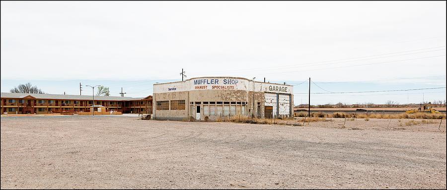 Muffler Shop, Holbrook, AZ by Andy Romanoff