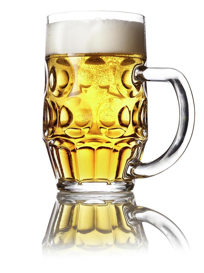 Mug Of Beer Photograph by Jonathan Kantor