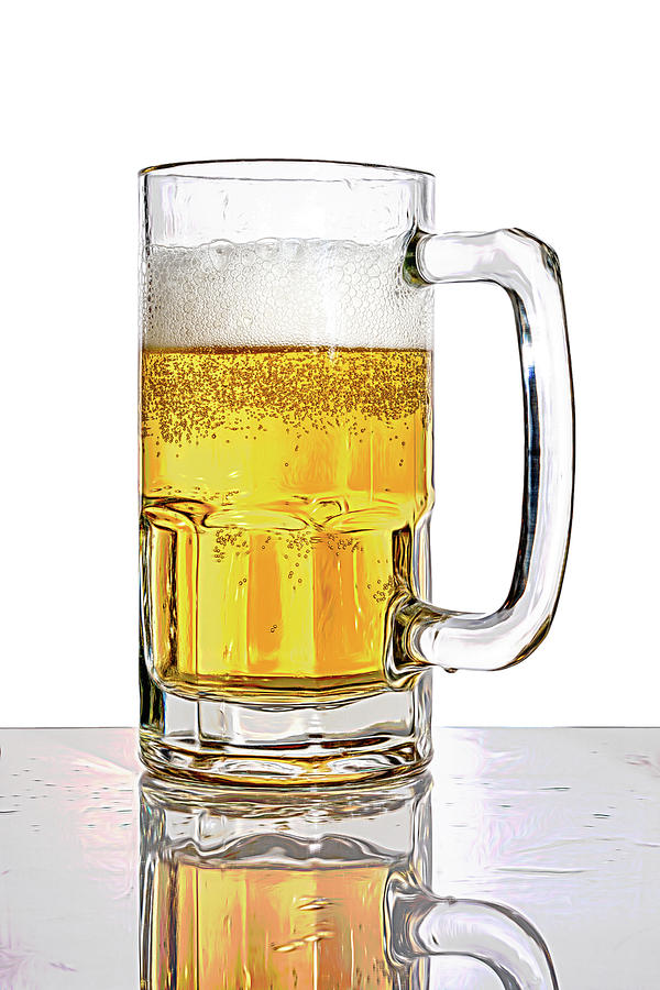 Ale Photograph - Mug Of Beer by Tom Mc Nemar